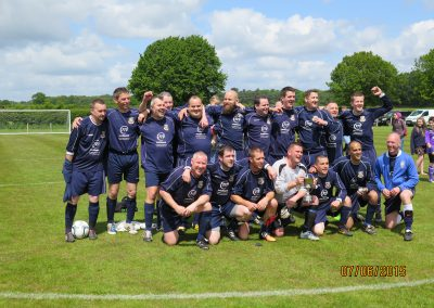 2015 Chairmans Cup Winners Frodsham Veterans Athletic
