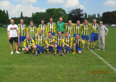2016 Presidents Cup Winners Grappenhall Sports
